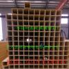 专业生产玻璃钢方管轩鑫玻璃钢厂家直销玻璃钢拉挤方管100*100